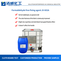 Cationic Formaldehyde Free Fixing Agent for Hemp JV-602A