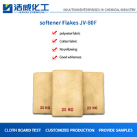 Anti Yellowing Softener Flakes for Down Jackets JV-80F